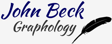 John Beck Graphology logo.